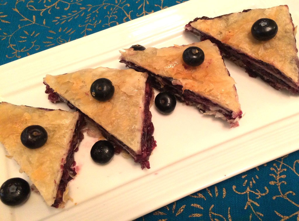 Blueberry-Baklava
