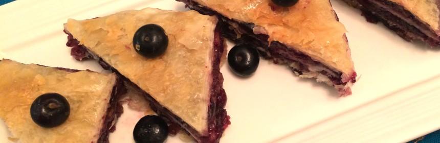 Blueberry-Baklava