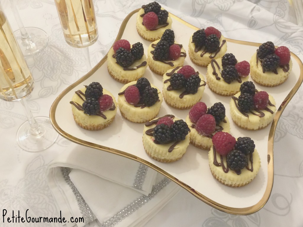 Baby Cheesecakes by The Petite Gourmande