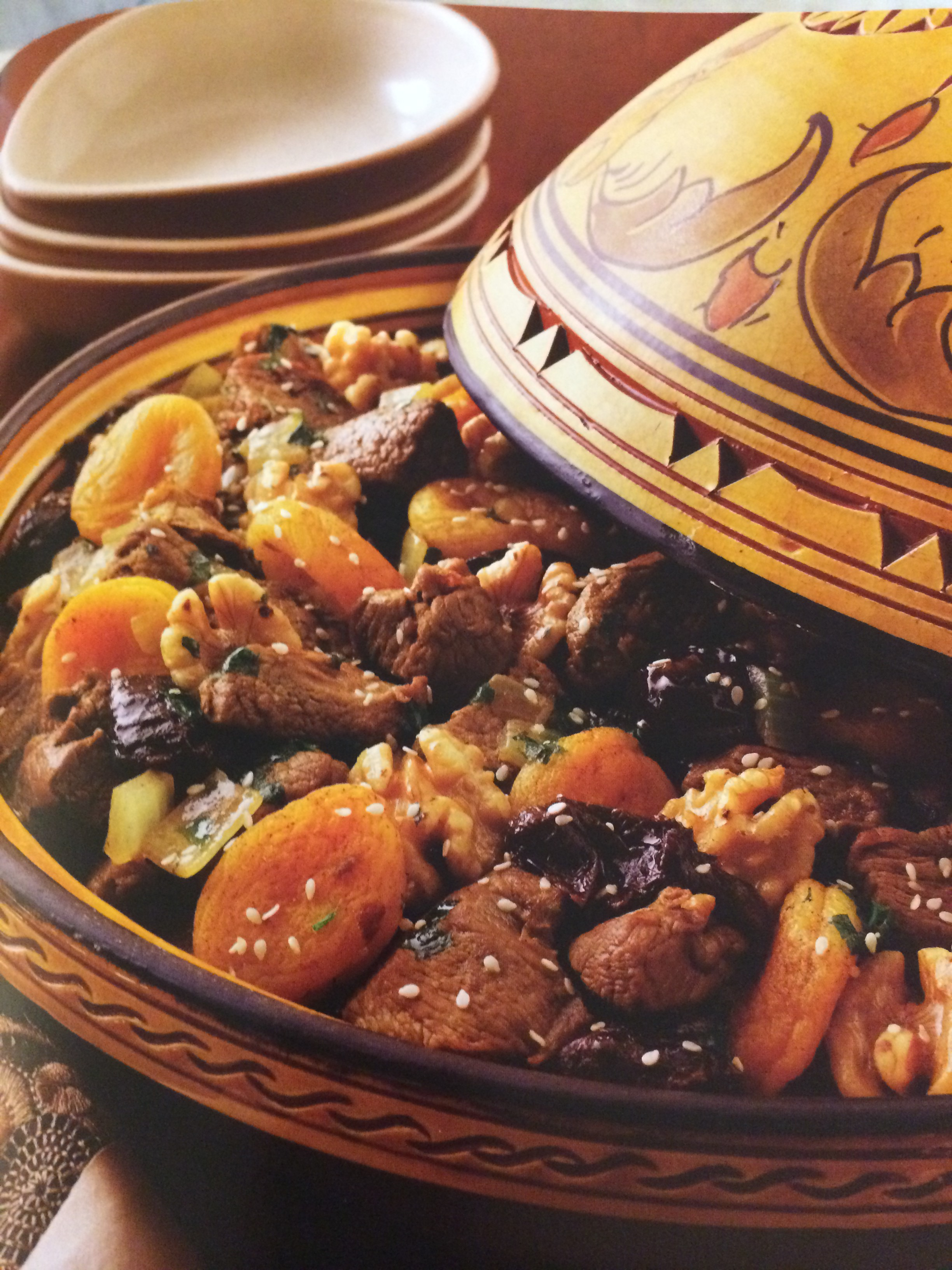 Lamb Tagine with Apricot and Prunes - The Petite Gourmande